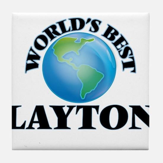 World's Best Layton Tile Coaster