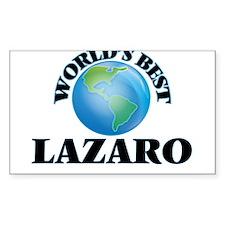 World's Best Lazaro Decal