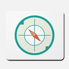 Compass Direction Mousepad