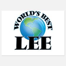 World's Best Lee Invitations