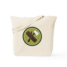 Wood Ax Tote Bag