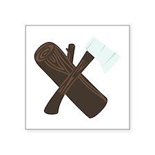 Ax Wood Sticker