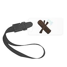 Ax Wood Luggage Tag