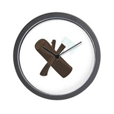 Ax Wood Wall Clock