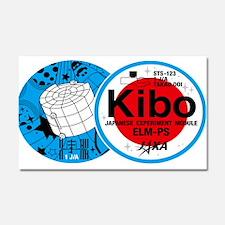 Kibo STS-123 Car Magnet 20 x 12