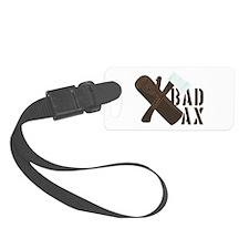 Bad Ax Luggage Tag