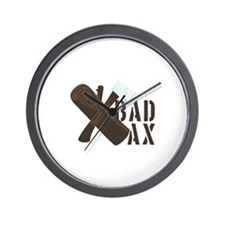 Bad Ax Wall Clock