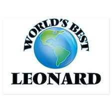 World's Best Leonard Invitations