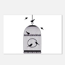 Cute Cage Postcards (Package of 8)