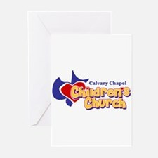 children's church Greeting Cards