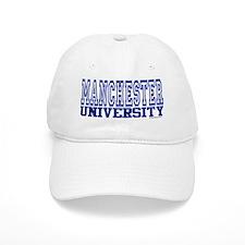 MANCHESTER University Baseball Cap