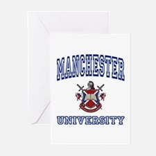 MANCHESTER University Greeting Cards (Pk of 10