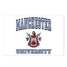 MANCHESTER University Postcards (Package of 8)