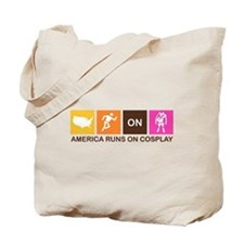 America Runs On Cosplay Tote Bag