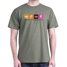 America Runs On Cosplay T-Shirt
