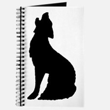 Howling Wolf Icon Journal