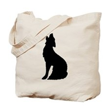 Howling Wolf Icon Tote Bag