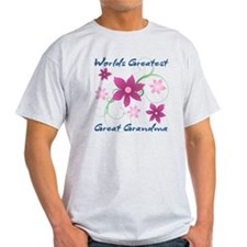 World's Greatest Great Grandma (Flow T-Shirt