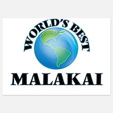 World's Best Malakai Invitations