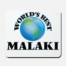 World's Best Malaki Mousepad