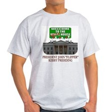 John Kerry the Waffle House Ash Grey T-Shirt
