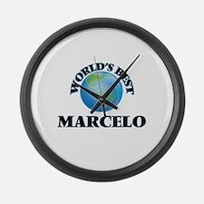 World's Best Marcelo Large Wall Clock