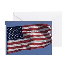 American Flag / July 4th cards (Pk of 10, blank)