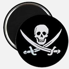 Calico Jack's Flag Magnet