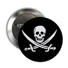 Calico Jack's Flag Button