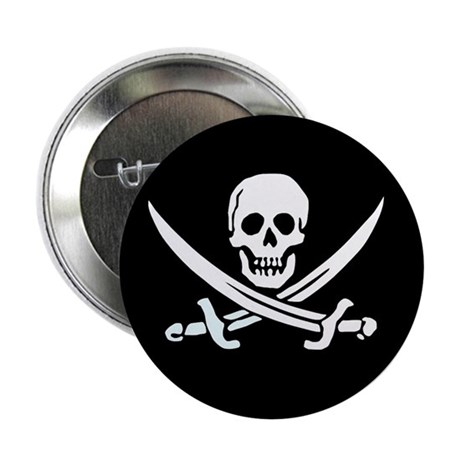 Calico Jack's Flag Button