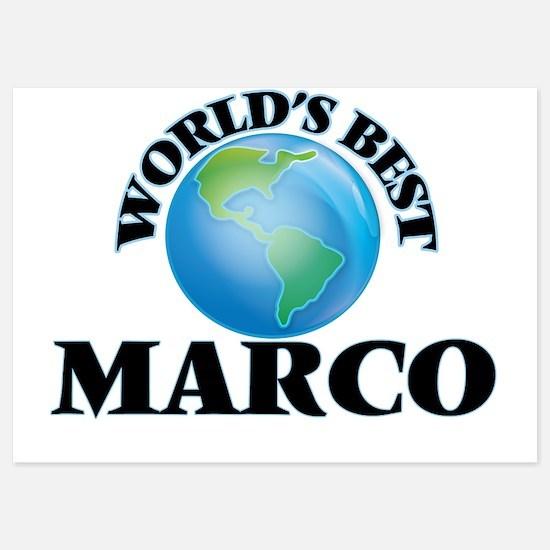 World's Best Marco Invitations