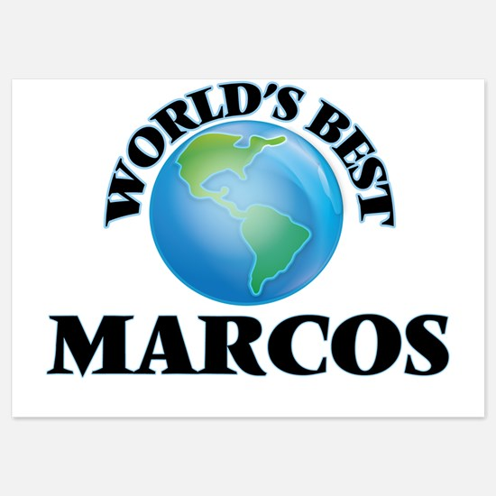 World's Best Marcos Invitations