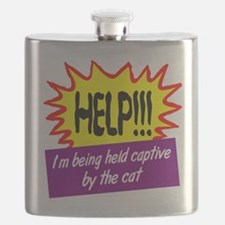 Being Held Captive Flask