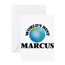World's Best Marcus Greeting Cards