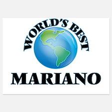 World's Best Mariano Invitations
