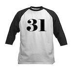 Preposterous 31 Kids Baseball Jersey