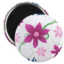 World's Greatest Niece (Flowery) Magnets