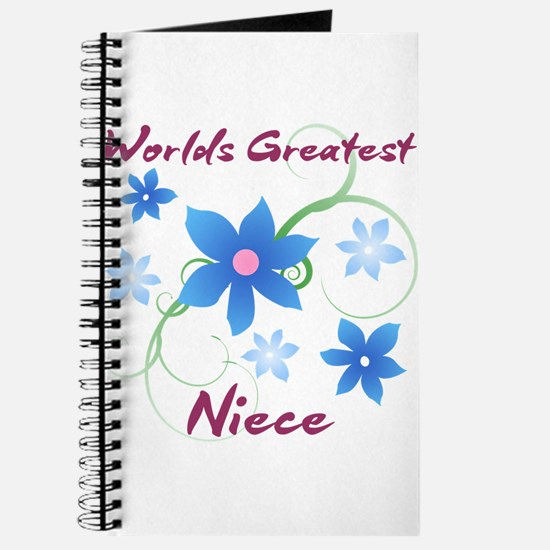 World's Greatest Niece (Flowery) Journal