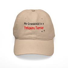 Yorkie Grandchild Baseball Cap