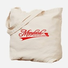 Maryland State of Mine Tote Bag