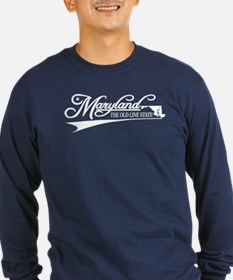 Maryland State of Mine Long Sleeve T-Shirt