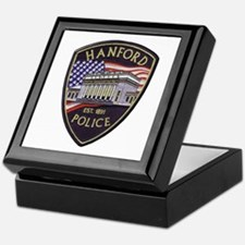 Hanford Police Keepsake Box