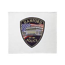 Hanford Police Throw Blanket