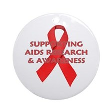 ...Aids Research... Ornament (Round)