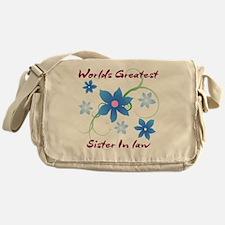World's Greatest Sister-In-Law (Flow Messenger Bag