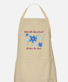 World's Greatest Sister-In-Law (Flowery) Apron