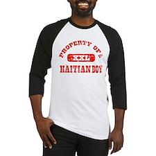 Property of a Haitian Boy Baseball Jersey