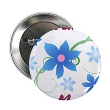 "World's Greatest Step Mother (Flowery 2.25"" Button"