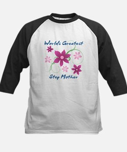 World's Greatest Step Mother (Flow Baseball Jersey