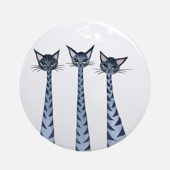 Vallejo Stray Cats Ornament (Round)